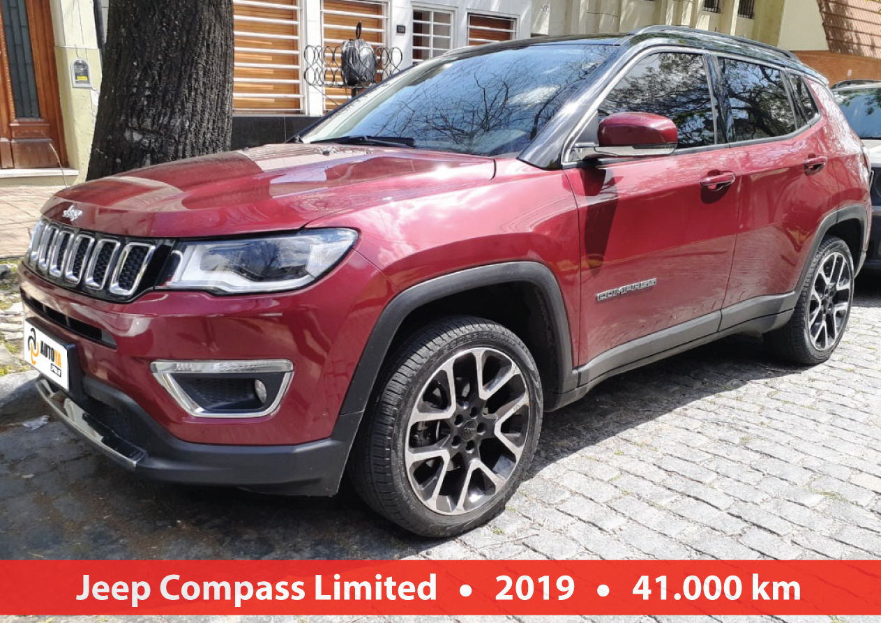Jeep Compas Limited At9
