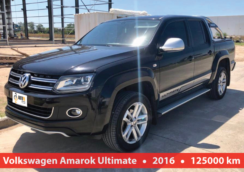 Volkswagen Amarok Ultimate 4x4 At